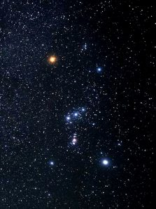 Stjärnbilden Orion