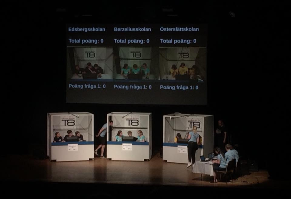 Teknikåttan Rikstävling 2018
